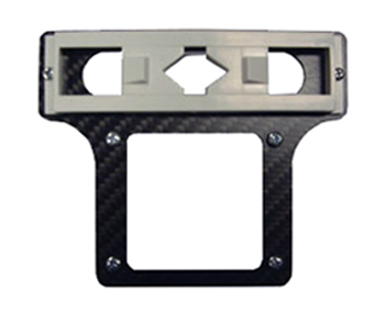 Beast X Carbon Fibre Bevel Box Plate