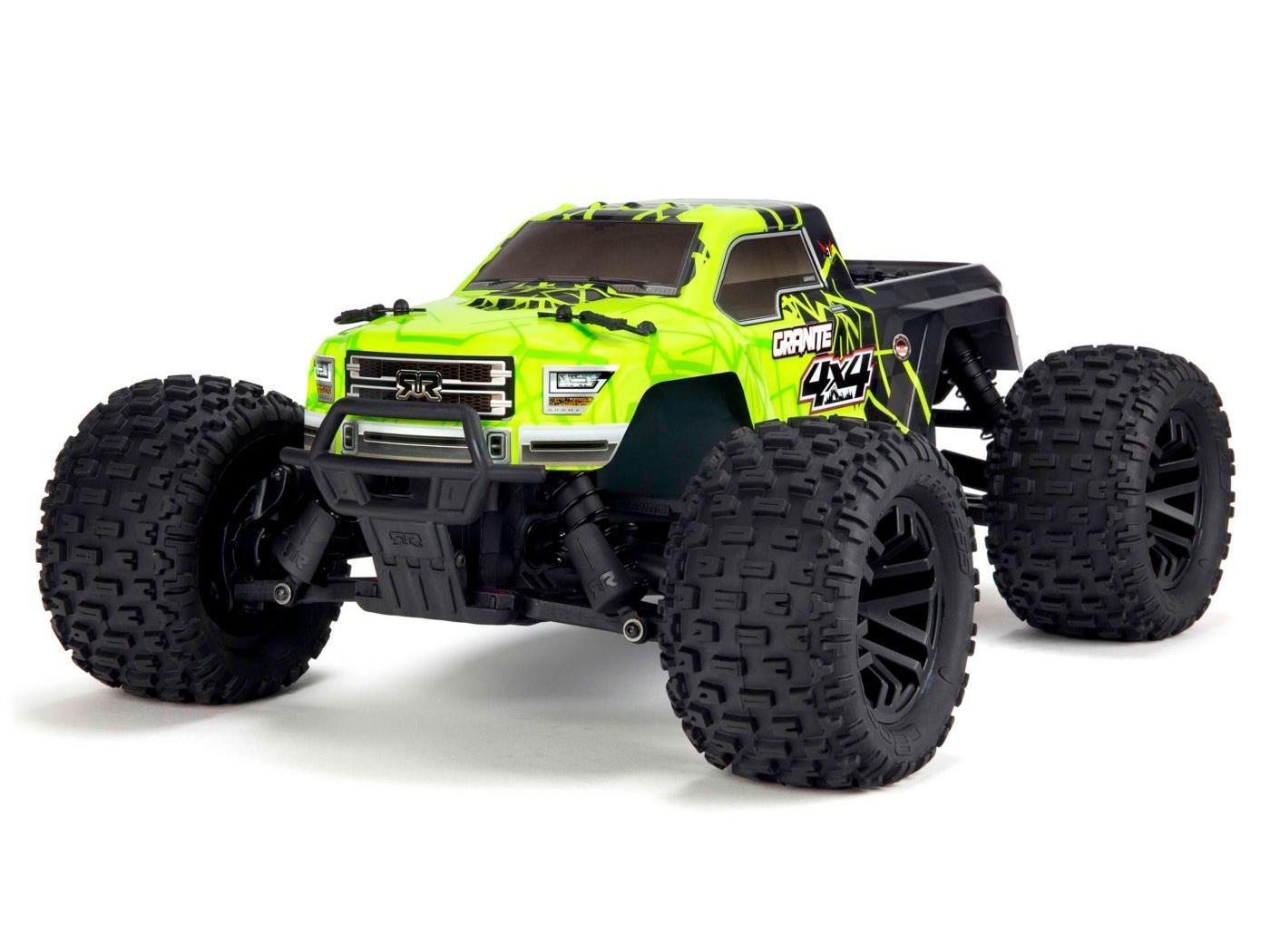 Arrma 1/10 Granite Mega 4x4 Brushed 4WD MT Green/Black RTR