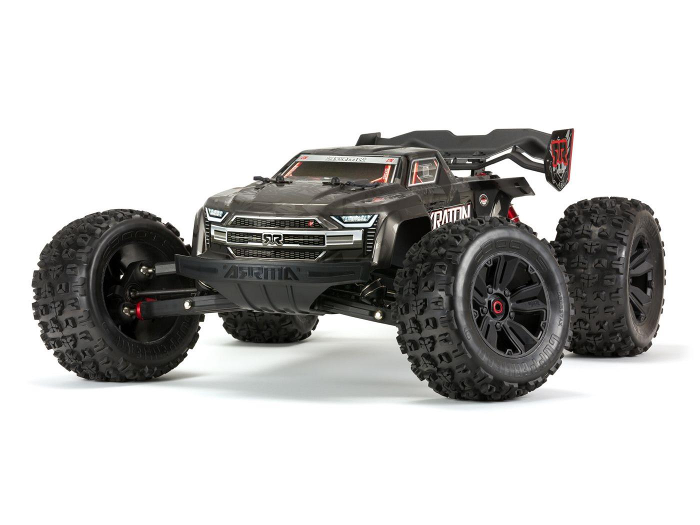 KRATON 1/8 4WD EXB Extreme Bash Roller Speed Black