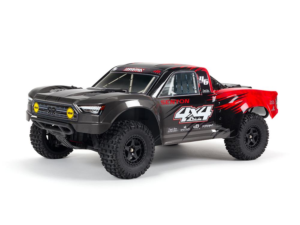 Arrma Senton 4X4 MEGA SLT3 Short Course Truck RTR Red