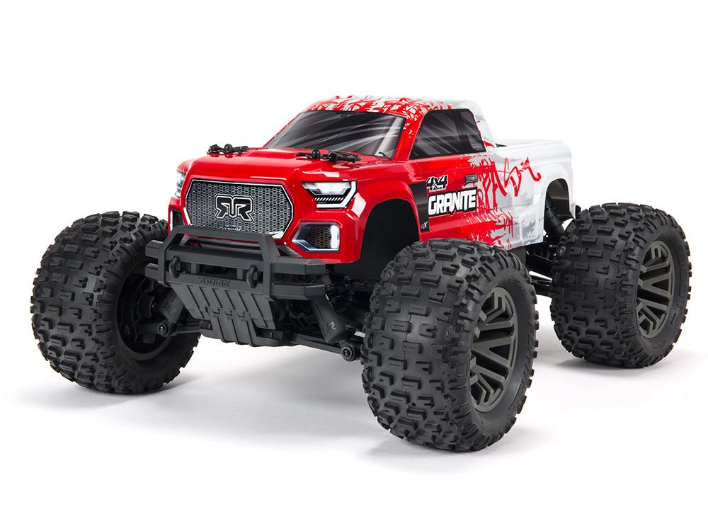Arrma Granite 4X4 3S BLX Firma SLT3 Monster Truck RTR Red