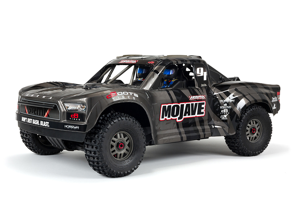 MOJAVE EXB 1/7th 4wd EXtreme Bash Roller Black