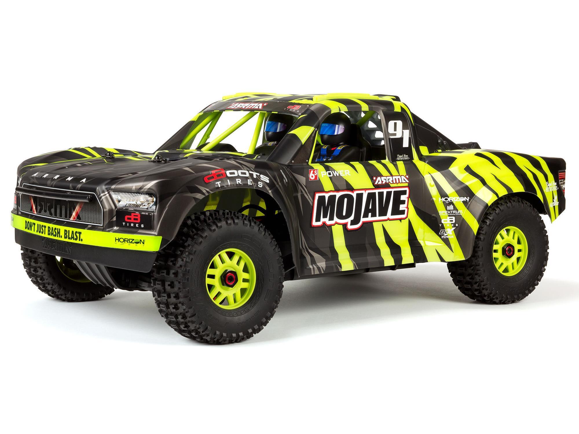 Mojave 6S BLX 1/7 Desert Truck Blk/Grn