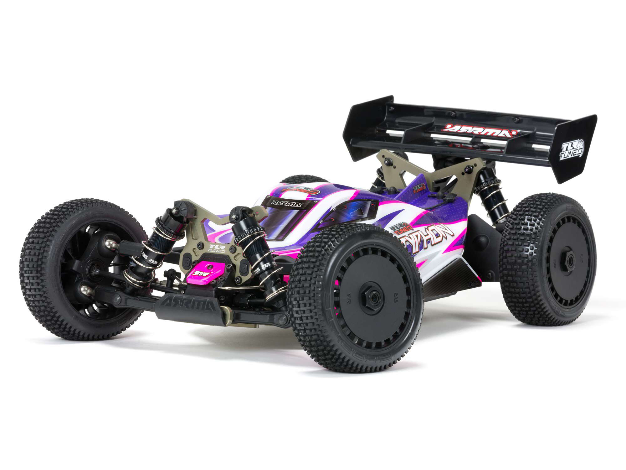 Arrma TLR Tuned TYPHON 1/8 4WD Roller (Pink/Purple)