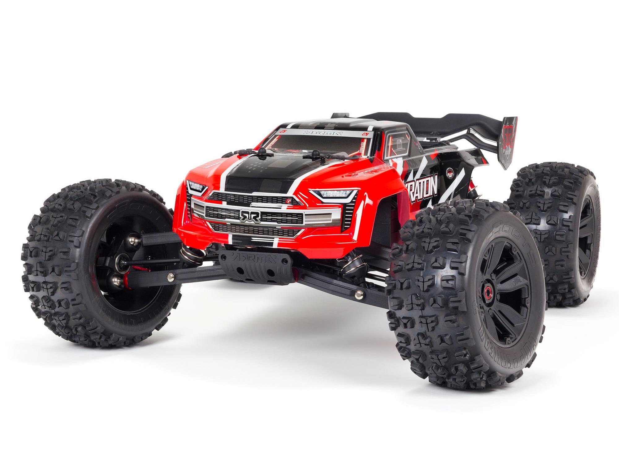 Kraton 6S 4WD BLX 1/8 RTR Red V5