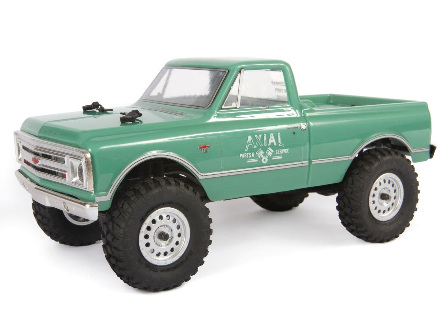 Axial SCX24 1967 Chevrolet C10 1/24 4WD-RTR, Green