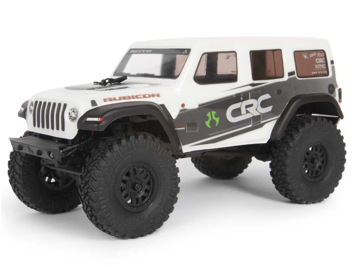 Axial SCX24 1/24 Jeep Wrangler JLU CRC RTR White