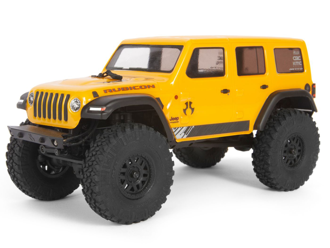 Axial SCX24 1/24 Jeep Wrangler JLU CRC RTR Yellow