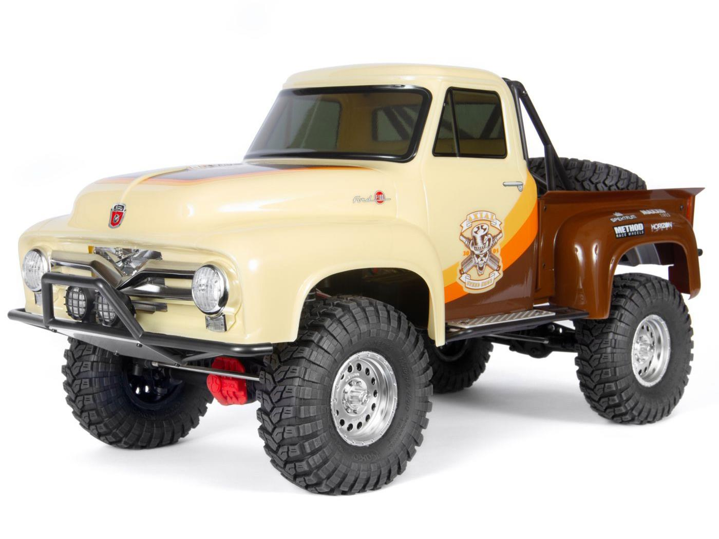 Axial SCX10 II 1955 Ford F-100 4WD RTR - Brown