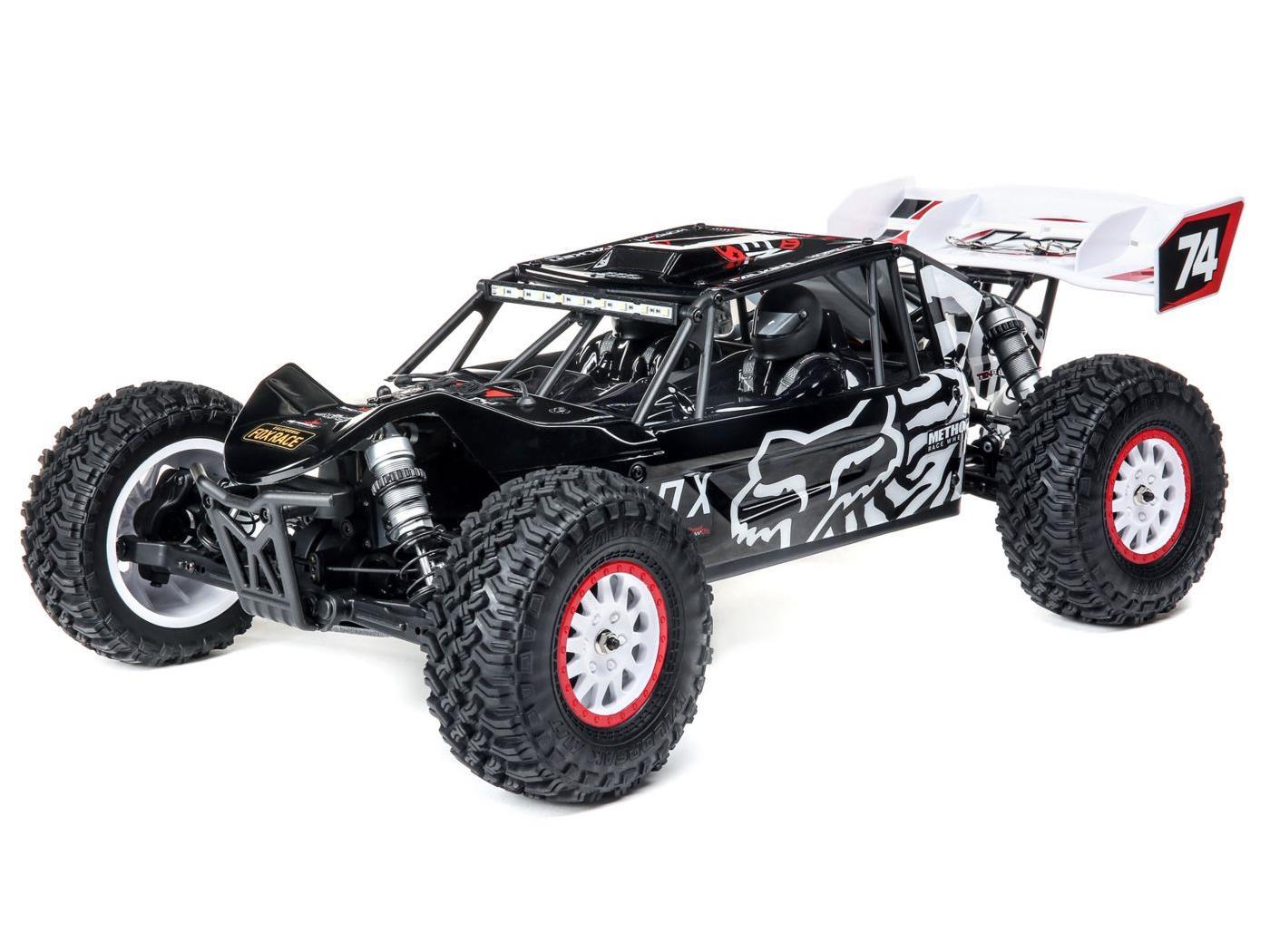 Tenacity DB Pro, Fox Racing, Smart: 1/10 4WD RTR