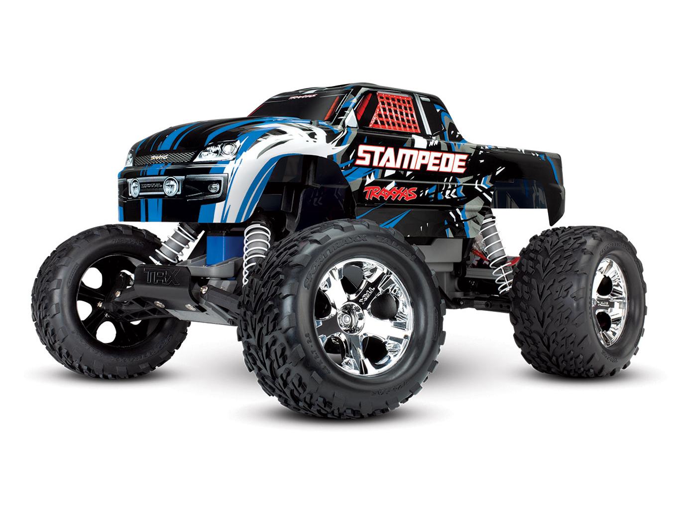 Stampede XL-5 2WD (TQ/No Batt or Chg) Blue