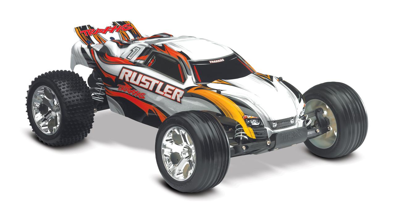 Traxxas Rustler XL-5 (TQ/8.4V/DC Chg) RTR Blue