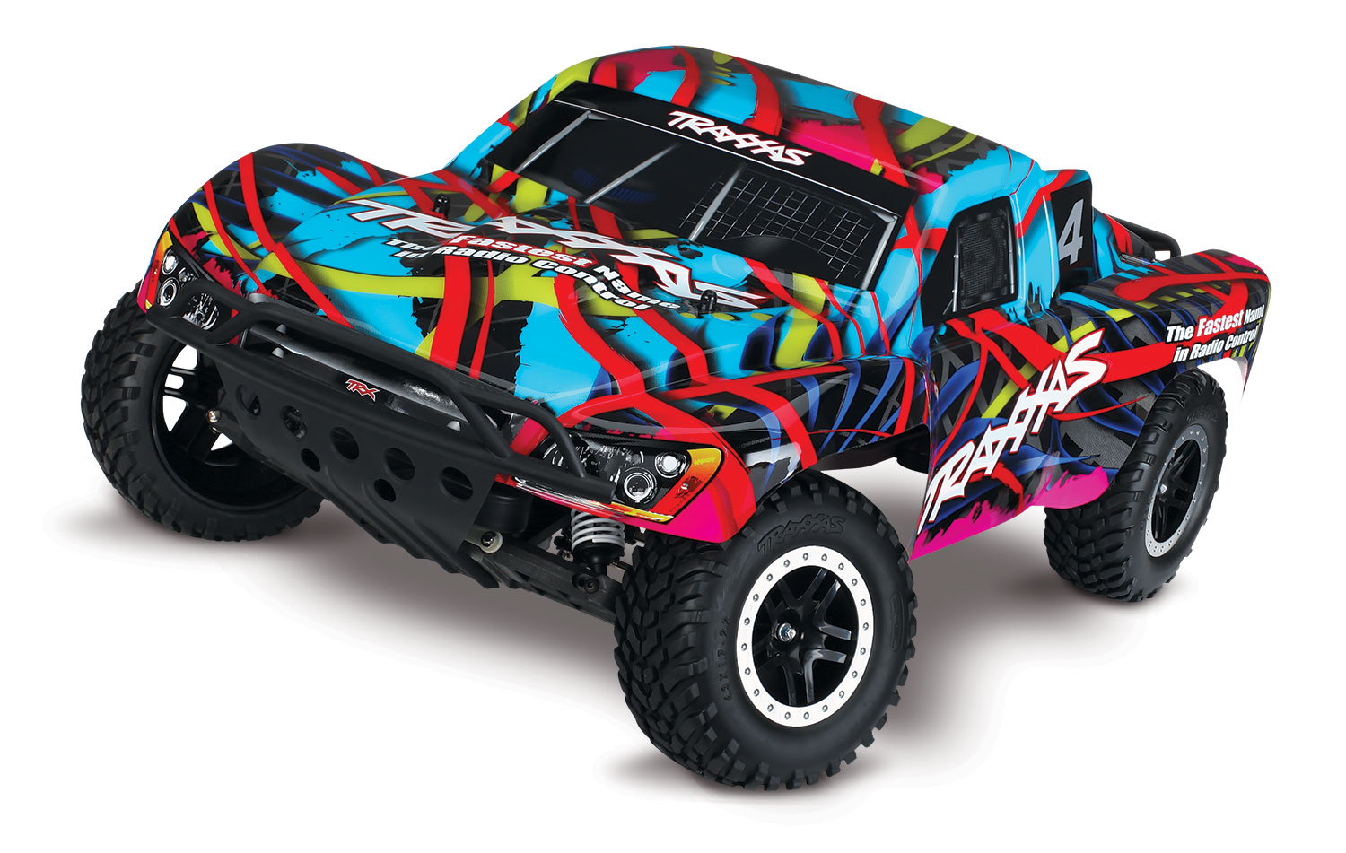 Traxxas Slash VXL Brushless 2WD TSM (TQi/No Bat or Chg)