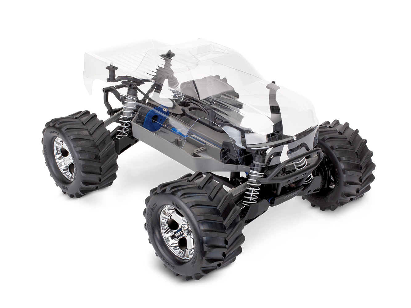 Traxxas Stampede 4X4 Assembly Kit: 1/10 4WD (No electronics)