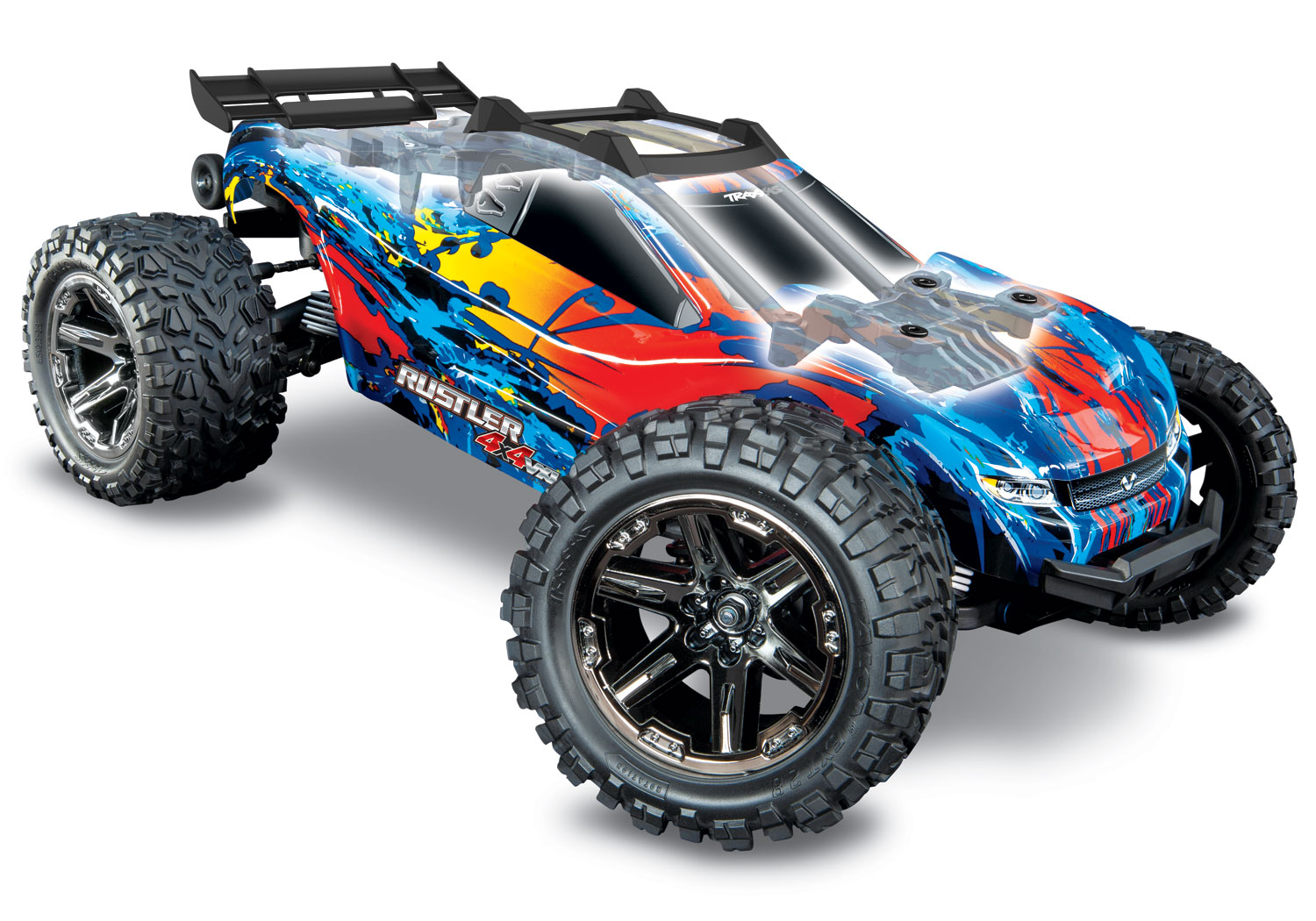 Traxxas Rustler 4X4 VXL, 1/10 Stadium Truck COMING SOON ORDER NOW