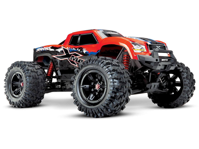 Traxxas X-Maxx 1/7 4WD 8S (VXL-8S/TQi/No Batt/No Chg)-Red