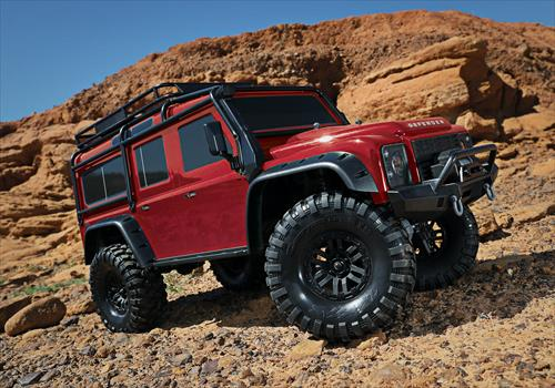 TRX-4 Land Rover Defender 110 (Red or Grey)