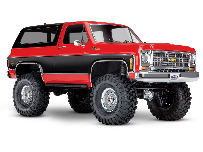 Traxxas TRX-4 Crawler 1979 Chevrolet Blazer (TQi/No Batt/No Chg) Red