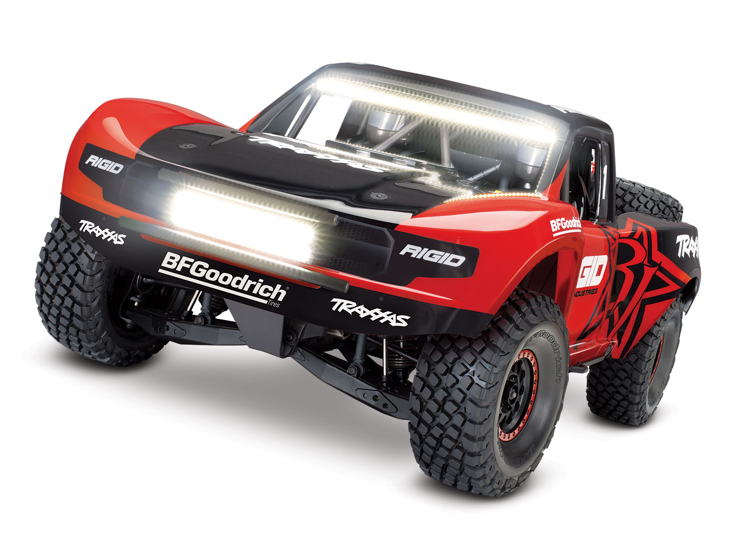 Traxxas Unlimited Desert Racer UDR 4WD TSM w/Lights (TQi/NoBatt or Chg) RIGID