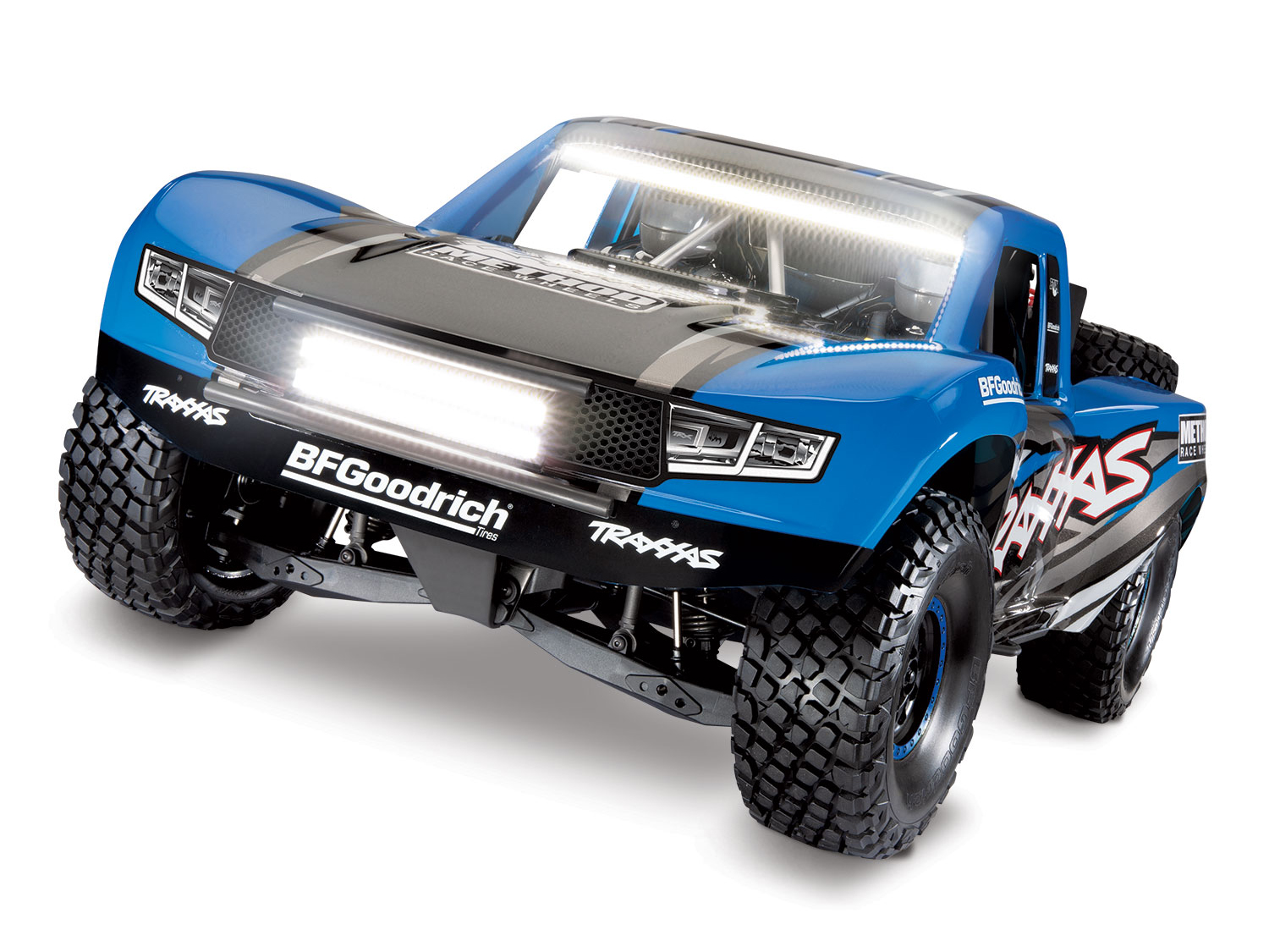Traxxas Unlimited Desert Racer UDR 4WD TSM w/Lights (TQi/NoBatt or Chg) TRX BLUE