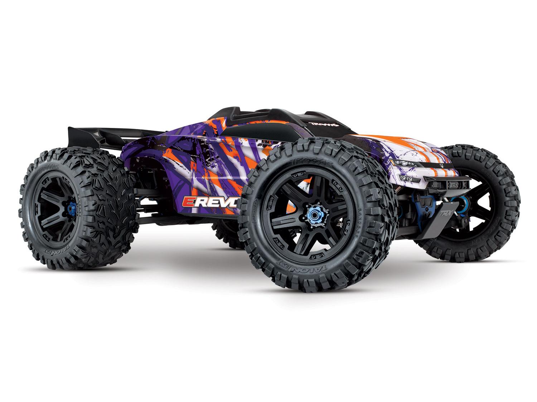 Traxxas E-Revo II VXL 4WD TSM (TQi/No Batt or Chg) - Purple