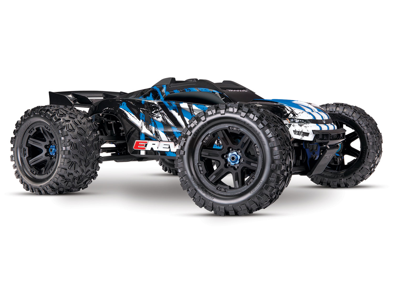 Traxxas E-Revo II VXL 4WD TSM Ready To Run Power Pack
