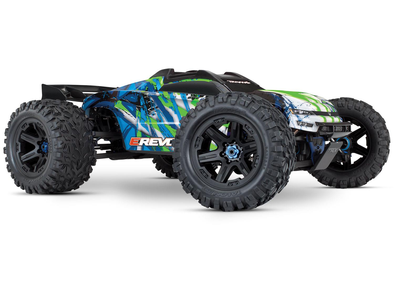Traxxas E-Revo II VXL 4WD TSM (TQi/No Batt or Chg) - Green