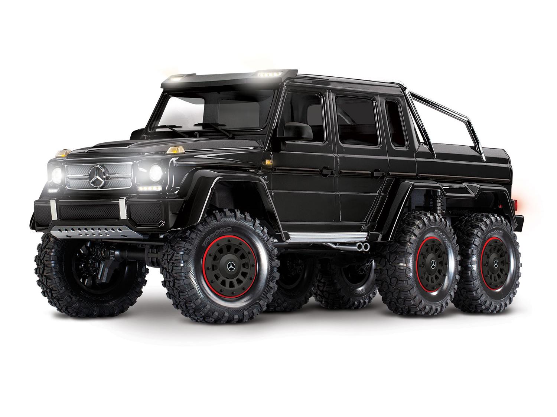 Traxxas TRX-6 6x6 Mercedes G63 Black (TQi, LED Lights) (No Batt/Chg)