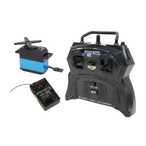 Carson Reflex Pro 2CH Stick 2.4Ghz Radio c/w 1 Servo