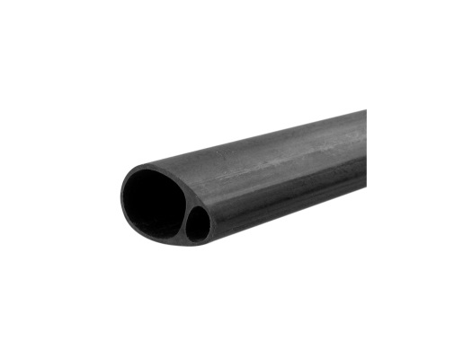 19mmx12.5mm Carbon Fibre Elliptic Tube (1mt)