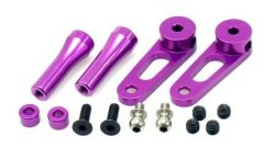 CNC Flybar Control Arms - Purple (Swift)