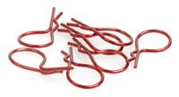 Big Body Clip 1/10 - Metallic Red (Pk8)
