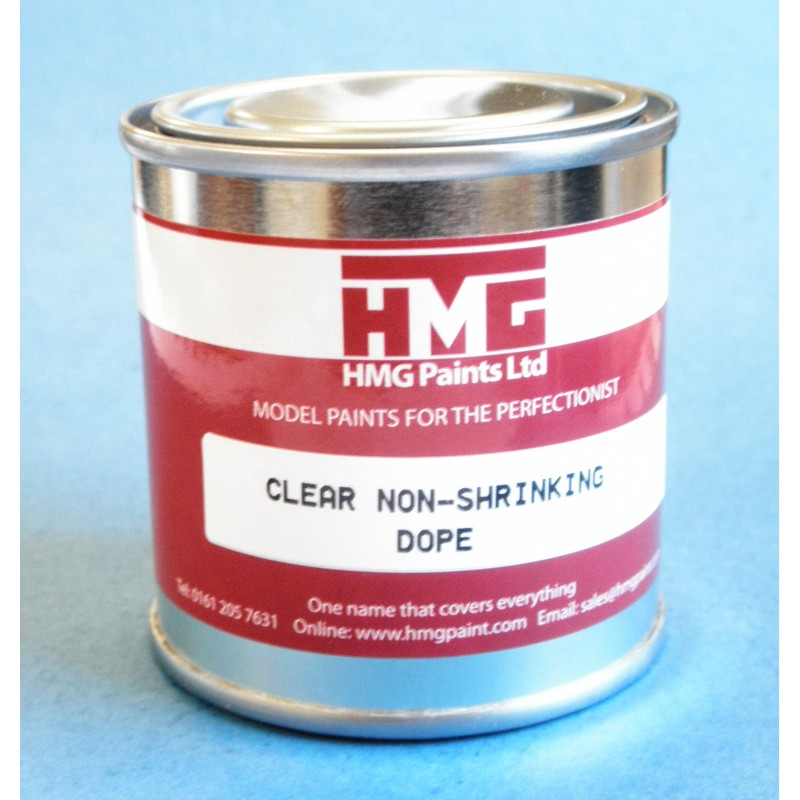 HMG Clear Non Shrinking Dope (125ml)