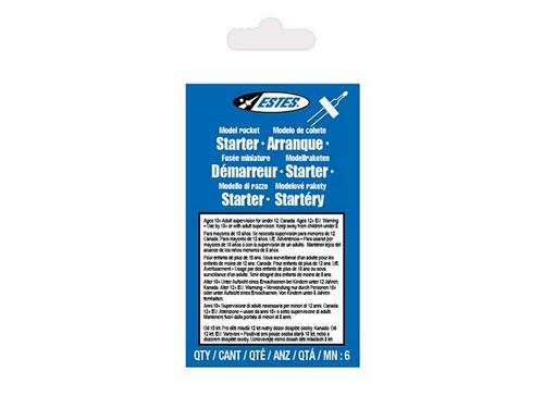 Model Rocket Starters (pk6)