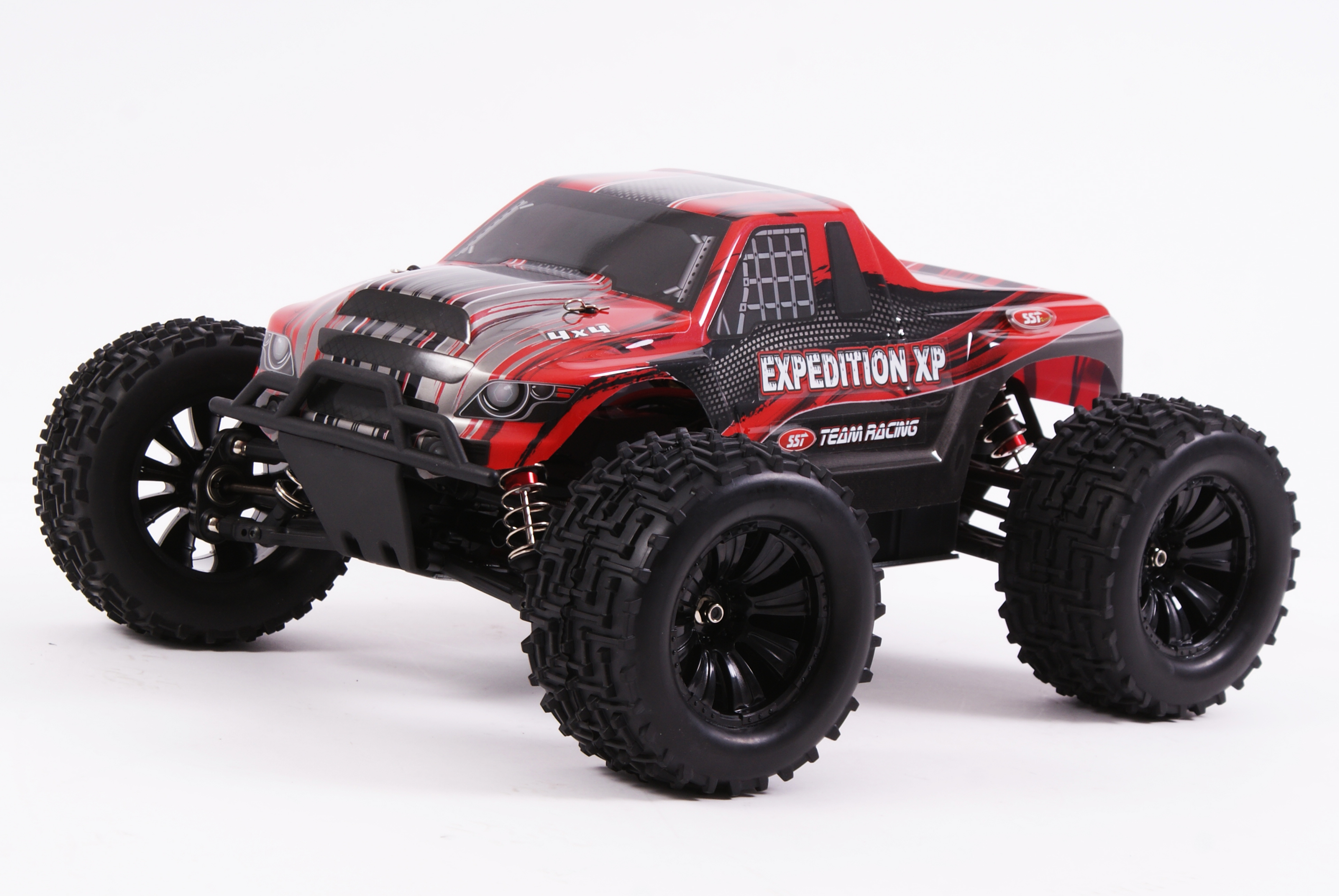 SST RACING - EXPEDITION 4WD MONSTER TRUCK 1/10 RED RTR