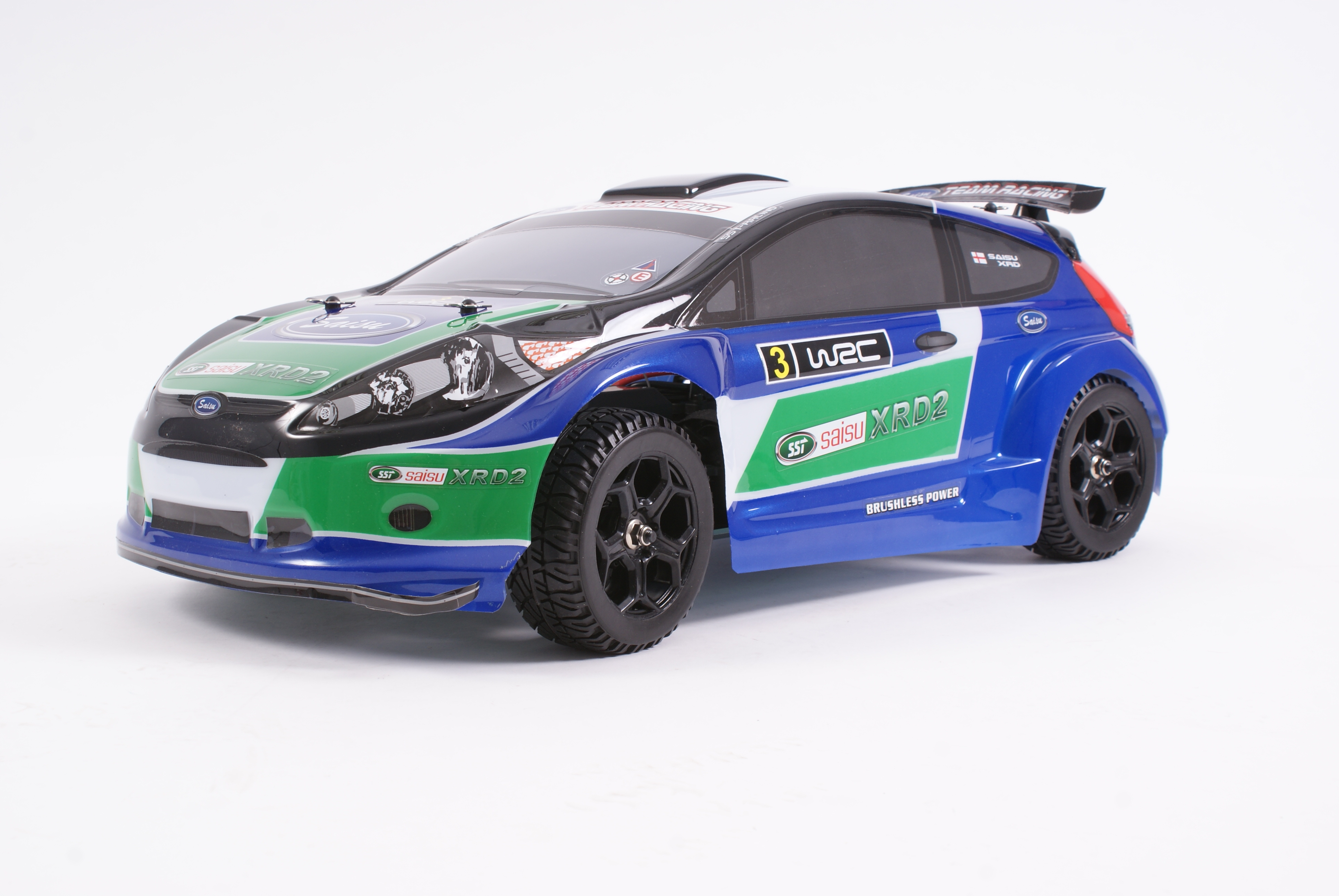 SST RACING - XRD2 RALLY CAR 4WD 1/9TH SCALE RTR B/LESS