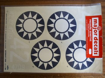 Nationalist China 60 Size Decals