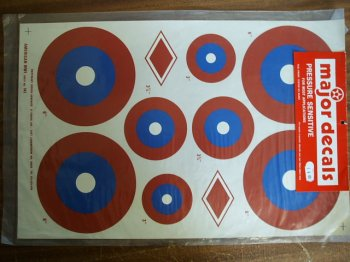 American WWI 40 Size Decals