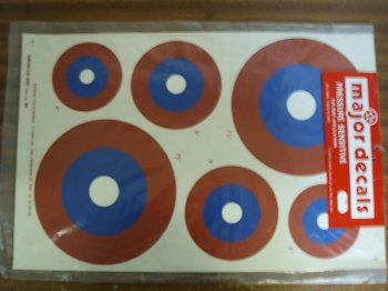 American WWI 60 Size Decals
