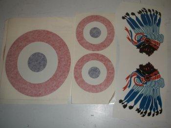 1/6 Scale Nieuport 17 Vinyl
