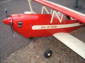 Balsa USA 1/4 Scale EAA Biplane kit