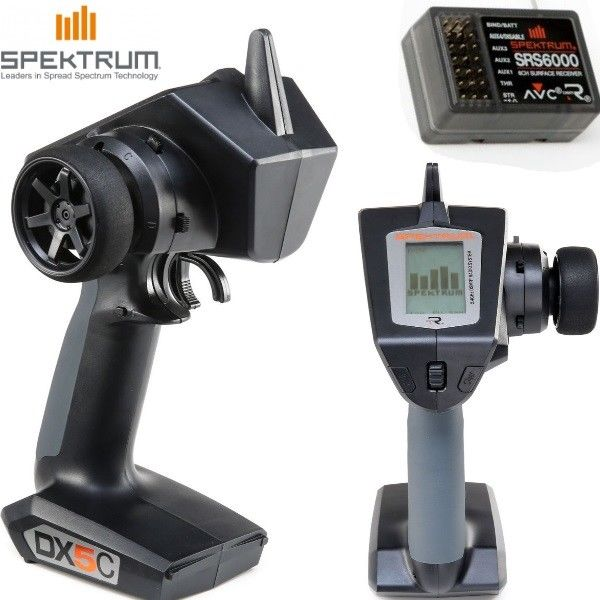 Spektrum DX5C Transmitter With SRS6000 Receiver