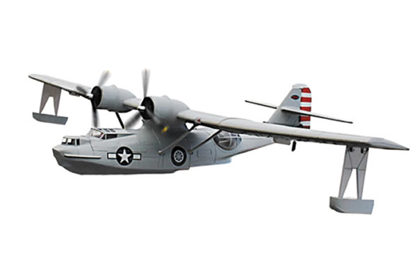 Dynam PBY Catalina 1470mm ARTF w/o TX/RX/Battery - Grey