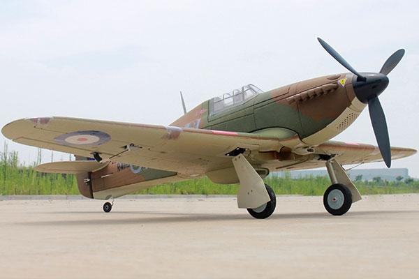 Dynam Hawker Hurricane Mk1 1250mm w/o TX/RX/Batt