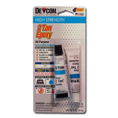 Devcon 2 Ton Epoxy (28g Tube)