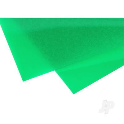 0.010in Greem Transparent Styrene Sheet (pk2)