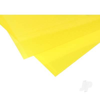 0.010in Yellow Transparent Styrene Sheet (pk2)