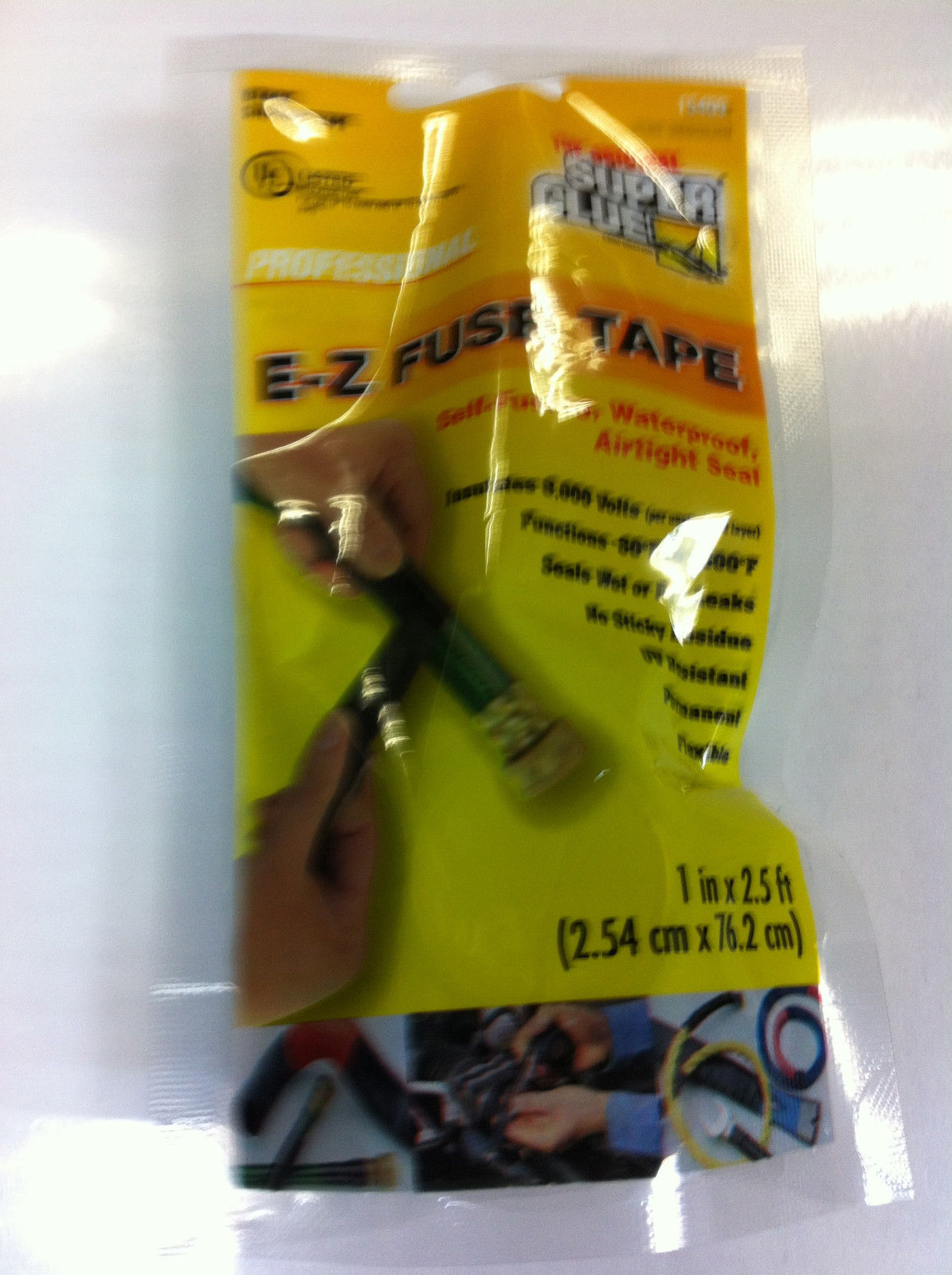 E-Z FUSE TAPE SELF FUSING,WATERPROOF,AIRTIGHT SEAL-BLACK