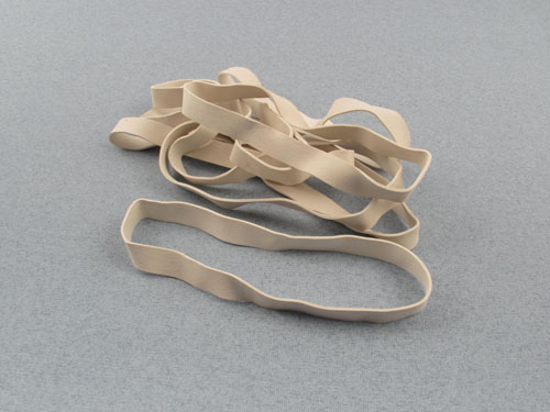 5 Inch White Rubber Bands (Pk8)