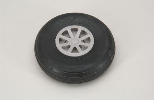 Robart Scale Wheel-Straight Tread 4 Inch (2)